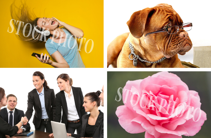 How not to use stock photos