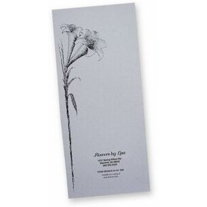 Document Folder with Lily Design Funeral Arrangements (4-1/2