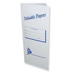 Valuable Papers Vertical Standard Document Folder (4 1/2