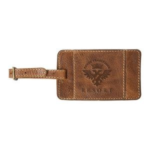 WestBridge Leather Luggage Tag