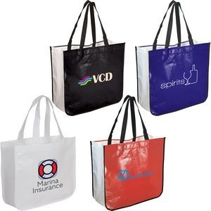 Extra Large Laminated Shopping Tote